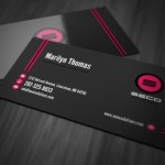 In name card, card visit